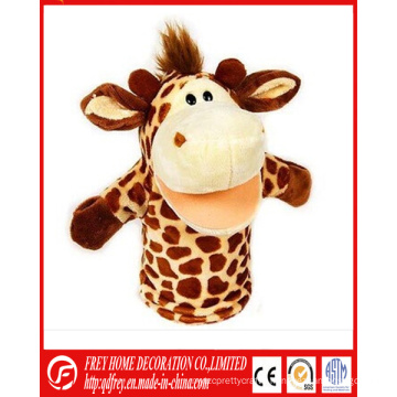 Hot Sale Plush Giraffe Hand Puppet Toy with CE