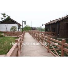 Outdoor-Wpc Deck für Bodenbelag