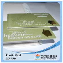 Prix d'usine personnalisé imprimé 13,56 MHz carte à puce de proximité