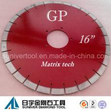"""Lâmina de serra de diamante de Arix GP 16 """"* 20mm"""