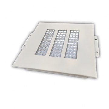 Tersembunyi 100w LED Canopy Light Fixtures
