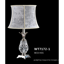 Comfortable Elegant Cafe Crystal Table Lamps (WT7172-1)