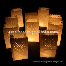 High quality custom paper bag candle holder