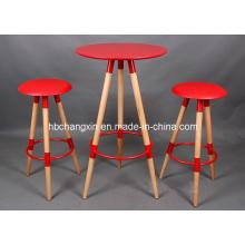New Modern Design High Quality Wood Leg Bar Chair