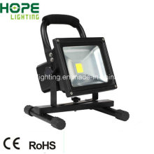 CE RoHS 10W LED Flood Light with Rechargeable