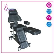 Cadeira multifuncional de tatuagem profissional / cama de massagem
