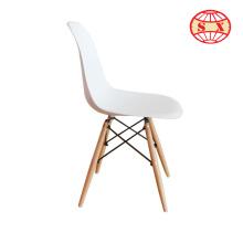 Chaise en plastique moderne chaise à manger en plastique en éléphant pour salle d'attente