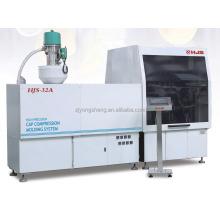 cap compression molding machine with machine parts