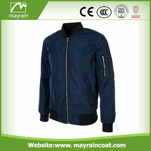 Green Polyester Raincoat