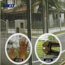 clôture de sécurité en acier de haute sécurité clôture de sécurité en acier pour la prison