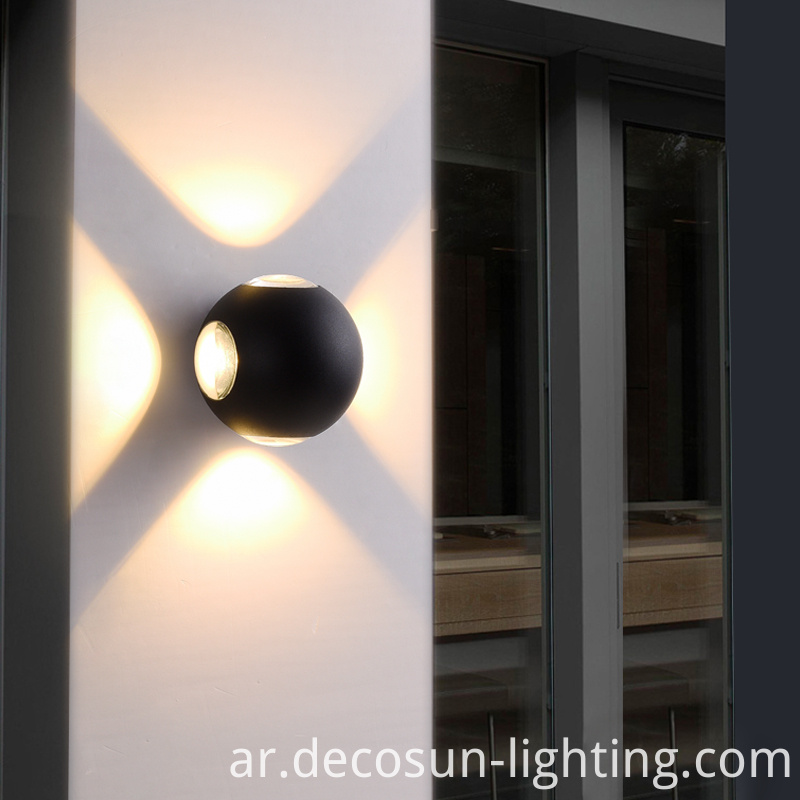 12w wall light outdoor