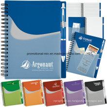 Juegos promocionales del cuaderno con las plumas modificadas para requisitos particulares
