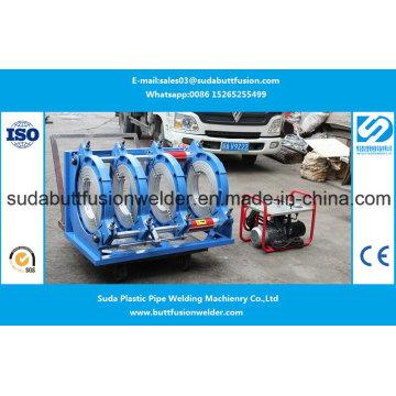 Encaixes de tubulação do HDPE de 280mm / 450mm Sud450h que soldam a máquina articulando