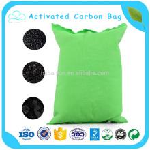 Atacado Car Deodorizer Bamboo Carvão ativado carbono saco