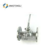 JKTLFB013 ss316 cf8m 1000wog Válvula de esfera com flange de duas peças