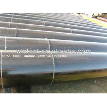 api 5l x52 / x42 / gr.b tubería de acero al carbono de alta presión