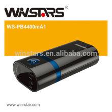 4400mAh Reisebatterie mit LED-Fackel, Energienbank, aufladend
