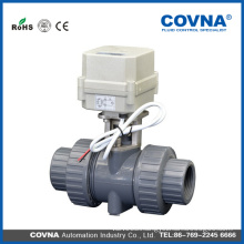 1 inch 2 inch 3 inch PVC electric ball valve price /Motorize ball valve dn15 dn20 dn25