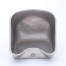 customized drinking water bowl for cow farm animal waterer AISI 304 stainless steel livestock waterer