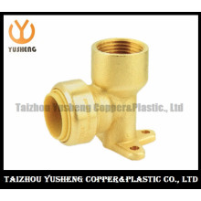 Female Brass Lead Free Quick-Connect Compression Fitting (YS3012)