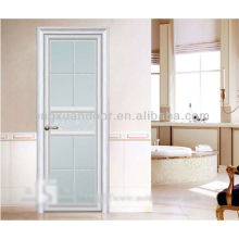 White Residential Aluminium Doors, Eco-friendly Bedroom Doors with Latest Popular Design