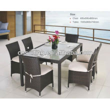 All Weather Wicker High Quality gardeners eden furniture Dining Furniture