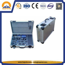 Maleta protetora de alumínio para transporte rodoviário de instrumentos