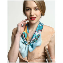 Pantalla impresa pequeño cuello cuadrado cuello o ornamento de la muñeca