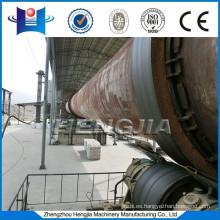 Cemento alto effiency horno rotatorio máquina de secado