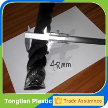 cuerda de batalla material del poliéster del color negro 48m m en venta