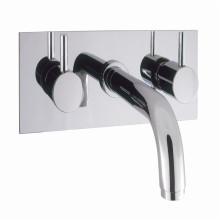 UK Style Badezimmer Einbauschrank Wasserhahn