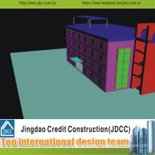 High Quality Prefabricated Commercial Building