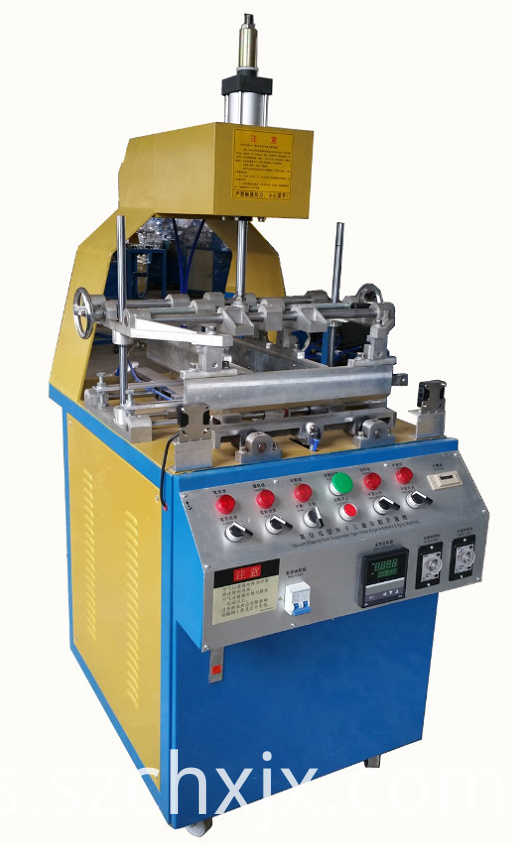 Automatic plastic blister folding machine