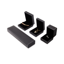 Black Leather Jewelry Boxes