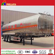 Semi Trailer Aluminum Alloy Fuel Storage Tank Trailer