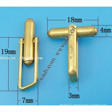 Gets.com brass titanium cufflinks