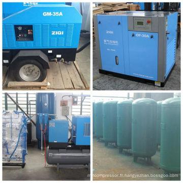 Réservoir comprimé en acier inoxydable de 1000L