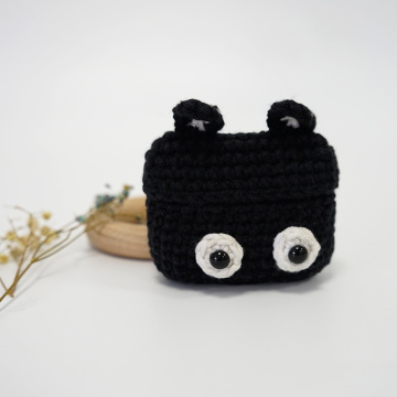 Crochet Airpods Case Cute Animals Funda para auriculares
