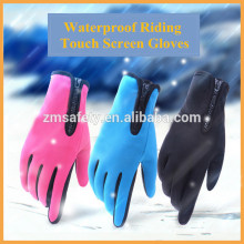 Full Finger Winter Neoprene Waterproof Touch Screen Bicycle Gloves Cycling Gloves