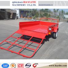farm trailer farm dump trailer small farm trailer with powder coating