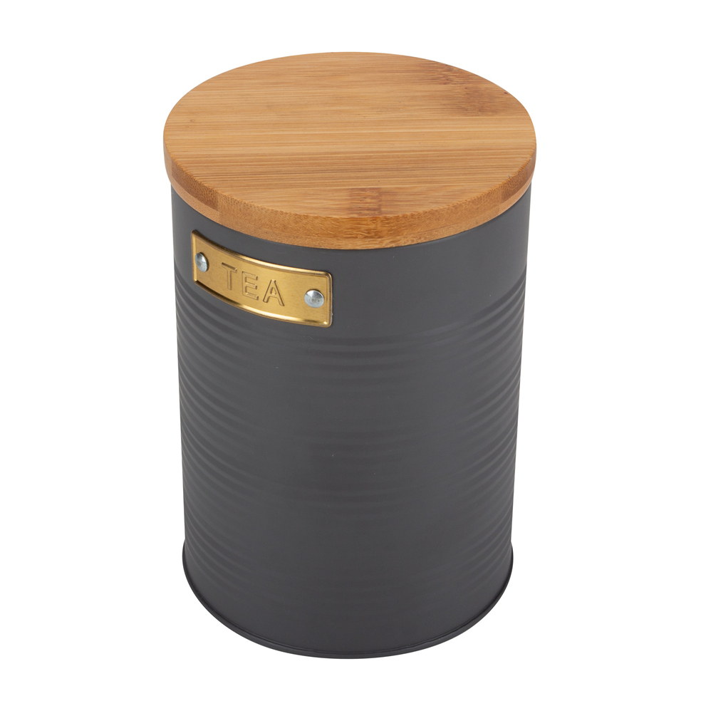 Wooden Metal Storage Bin