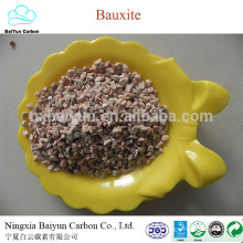Bauxita calcinada fábrica precio 60% -88% Bauxita cruda refractaria Al2O3 para la venta