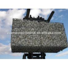 hot sales Hexagonal weaving galvanized gabion box