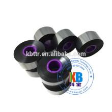 Ruban de résine de cire noire Ruban noir pour imprimante Domino compatible 33 mm * 600 m