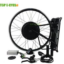 Top e-cycle e bike kit 1000W con batería trasera