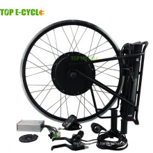 Top e-cycle e bike kit 1000W with rear pack battery
