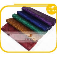 100% coton en gros ghalila kaftan tissu pansement de mariage abaya tissu chiffons damassé guinée brocart