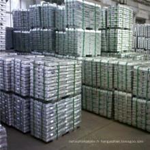 Les lingots de zinc de haute qualité les moins chers 99,995%