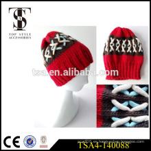 Fábrica directamente venta sombrero de invierno de las señoras de la manera sombreros europeos del invierno del estilo