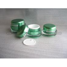 15 г 30 г 50 г зеленых круглой формы Акриловый крем опарник